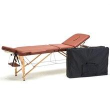 186 см* 60 см спа тату тело красивая мебель портативный складываемый пластиковый массажная кровать кисточка для бритья бук деревянный Регулируемый массажный стол