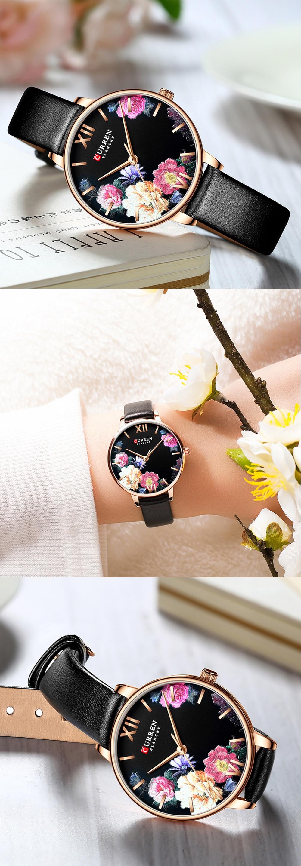 HTB13FgCeEGF3KVjSZFvq6z_nXXaI CURREN Charming Flower Design Fashion