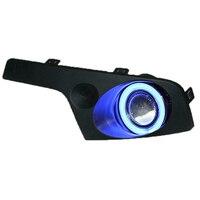 COB Angel Eye DRL Daytime Running Light Halogen Fog Lamp Projector Lens Fog Lamp Cover For