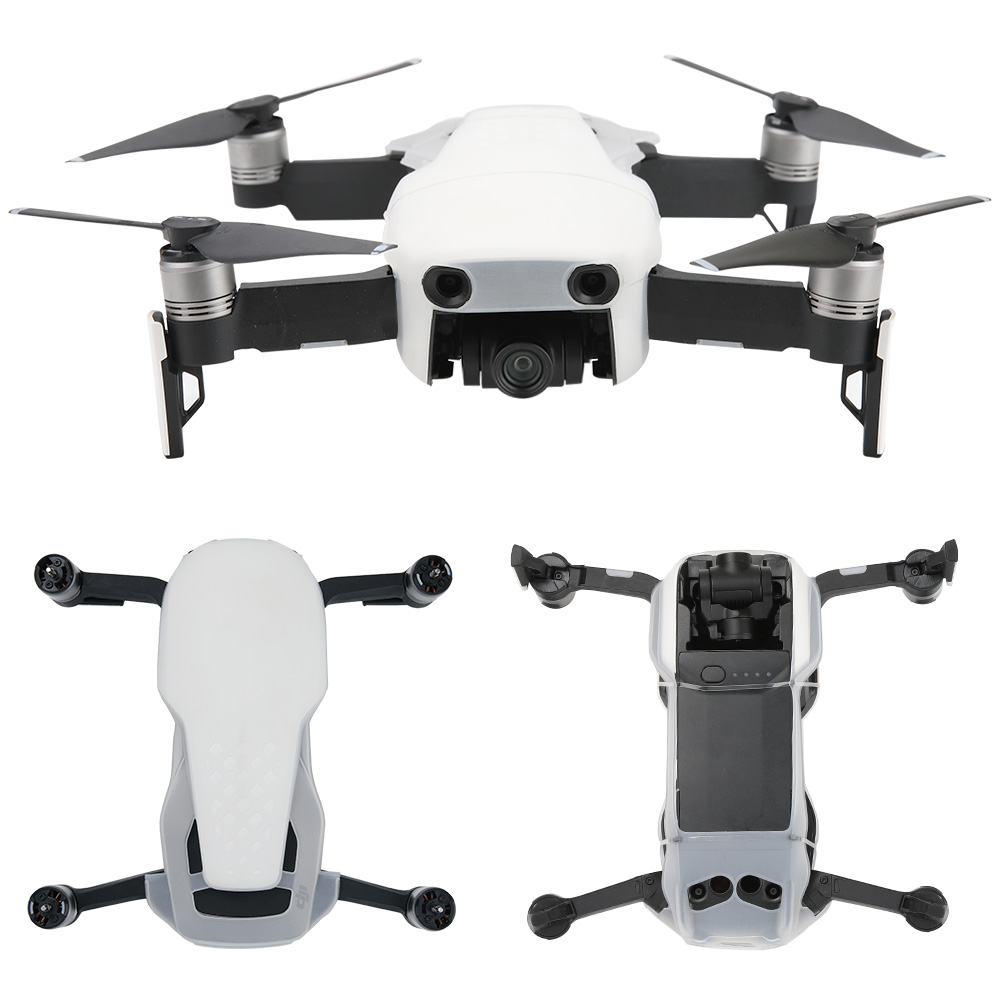 New Dust-proof Mavic Air Silicone Protective Cover Body Shell Case Prop Protector Skin Spare Parts For DJI mavic air Accessor