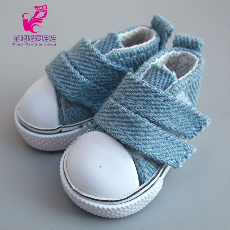 5cm-Doll-Shoes-Denim-Sneakers-for-BJD-dollsFashion-Denim-Canvas-Mini-Toy-Shoes-16-Bjd-For-handmade-Doll-1