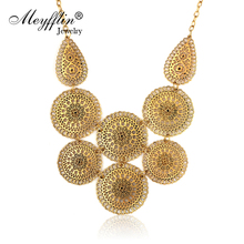 Statement Maxi Necklaces & Pendants Bijoux Collier Femme For Women Collar 2019 Mujer Fashion Vintage Gold Choker Jewelry Colar