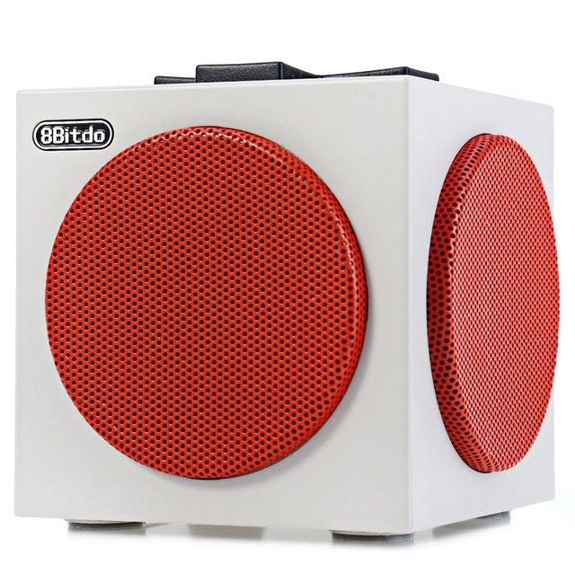 Usb falante portátil orador design 100% original 8 8bitdo wireless controller bluetooth v2.1 sem fio caixa de som para celular laptop tablet