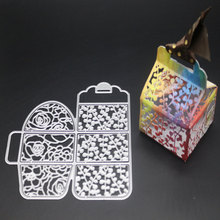 Candy box Metal Cutting Dies Stencil And Stamps For DIY Scrapbooking Embossing Card Making Leaves Craft Birthday Dies New 2019 boat fishing metal cutting dies and stamps scrapbooking for new craft dies set embossing stencils dies 2020