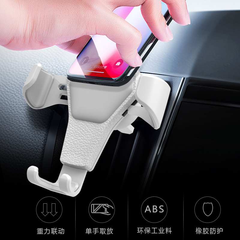 SARA NELL Universal Gravity Car Phone Holder For Phone In Car Air Vent Mount Stand No Magnetic Mobile Phone Car Bracket in Phone Holders Stands from Cellphones Telecommunications
