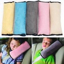 2Pcs Soft Suede Seat Belt Shoulder Pad Universal Shoulder Strap Covers for Kids Adults FJ88