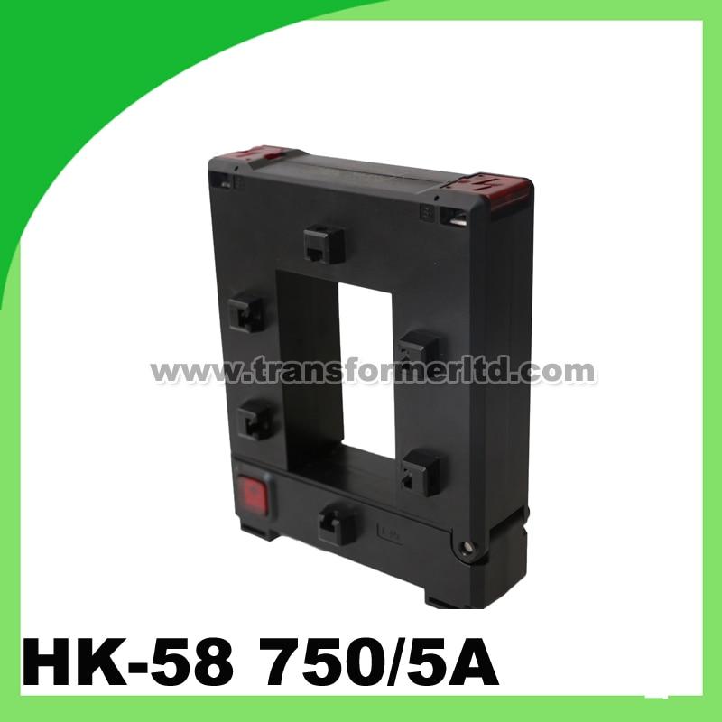 HK-58 Split Core Current Transformer 750A Opening Size 50*80mmHK-58 Split Core Current Transformer 750A Opening Size 50*80mm