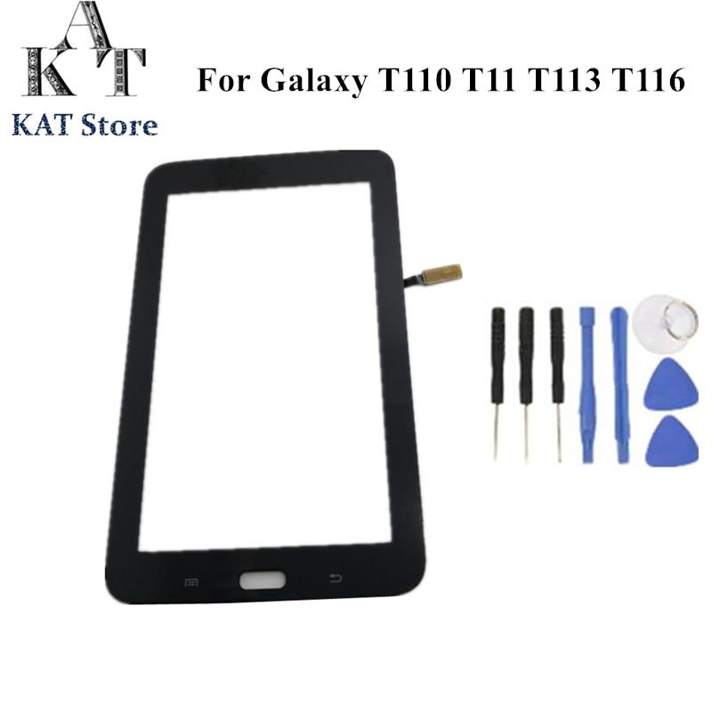KAT для Samsung Galaxy Tab 3 Lite 7,0 SM-T110 T111 T113 T114 T113NU T116 сенсорный экран стекло дигитайзер ЖК-дисплей Замена