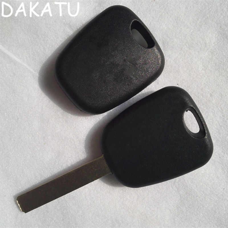DAKATU con LOGO transpondedor Auto coche funda para llave de repuesto funda para CITROEN C1 C2 C3 Pluriel Uncut VA2 Blade