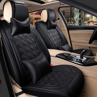 car seat cover seats covers leather for volkswagen vw polo 6r 9n sedan sagitar santana volante caddy 2009 2008 2007 2006