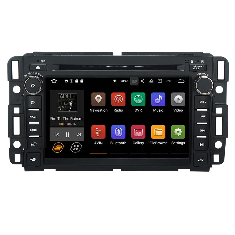 1024*600 Android 7.1 Quad Core lecteur DVD de voiture Radio Navigation GPS pour Chevrolet Aveo Holden Epica Captiva Optra Matiz Barina