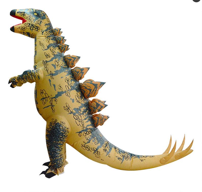 Party Adult t rex Dinosaur Costume Cosplay Fantasy Inflatable Dinosaur T REX Blowup t-rex Mascot Halloween Costume for Women Ma