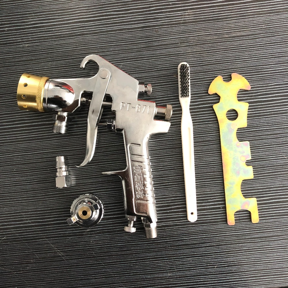 BIG nozzle 3.0/3.5/4.0mm Barrel Imitation marble Spray paint gun  airbrush airless painting sprayer Spray Guns     -