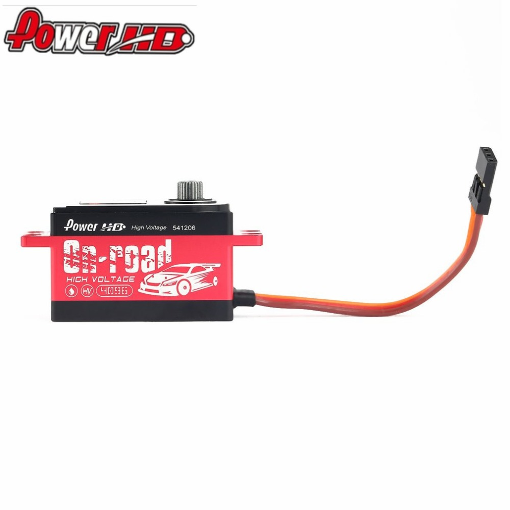 POWER HD L12HV Alloy Gear Digital Coreless HV High Voltage Servo with 12kg High Torque for RC Remote Control Drift Car hz цена