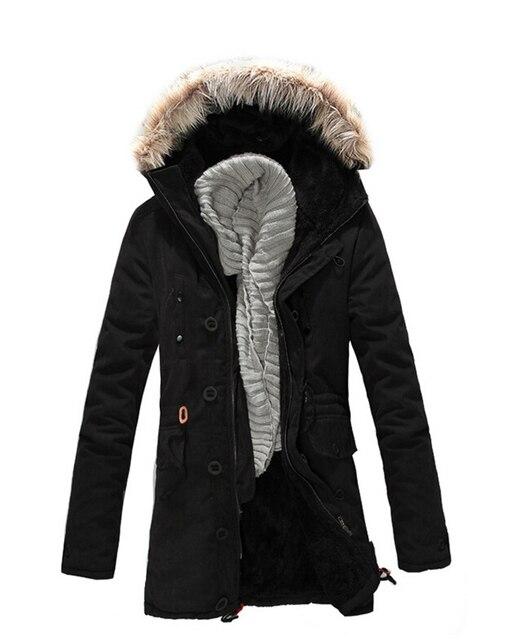 Big Mens Winter Coats 2017 Brand Fashion Warm Cold Winter