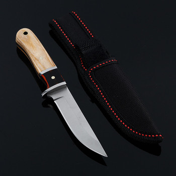 fixed blade fighting knife camping survival pocket knives outdoor hunting Portable Tactics EDC diving tools Wood tools cs cold sharpen blade wood handle knives camping survival pocket knife outdoor fighting hunting portable tactics edc tools