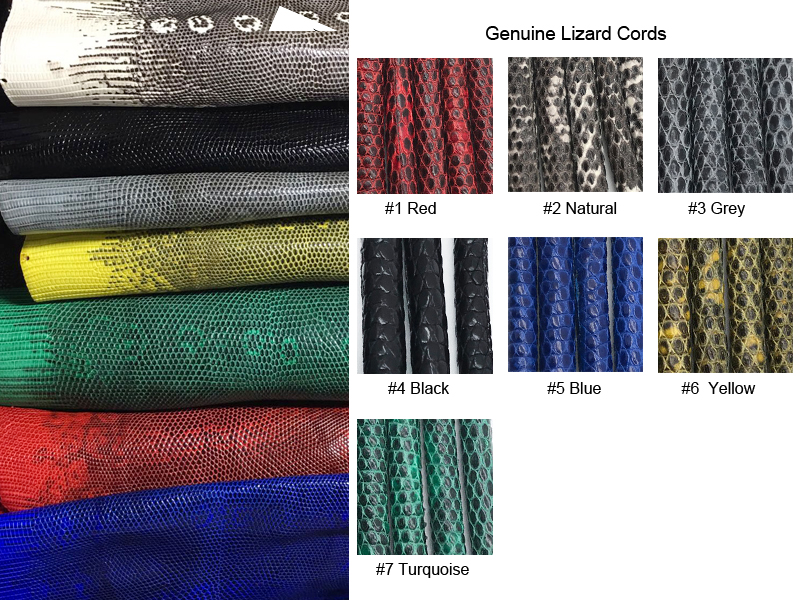 2018-Lizard cords color chart
