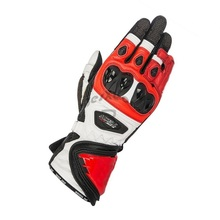 GP PRO Motorbike-Gloves Super-Tech Racing 100%Genuine-Leather New 4-Colors Driving