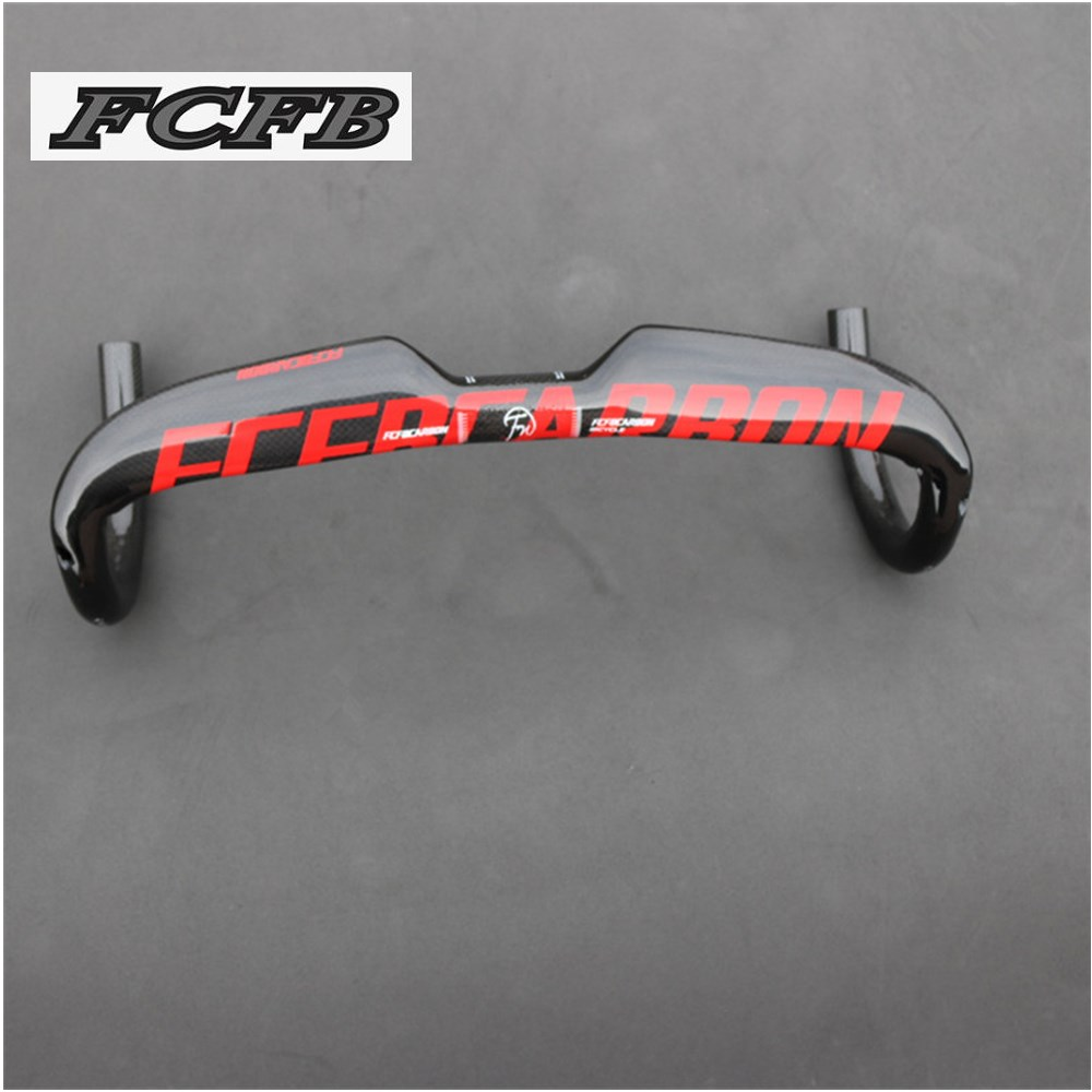 2016 new arrival top FCFB  full carbon fiber road handlebar bicycle internal routing handlebar bent bar  3K finish 400/420/440mm 2017new puraraza full carbon fiber road bicycle handlebar road bicycle internal bent bar 31 8 40cm 42cm 44cm internal cable