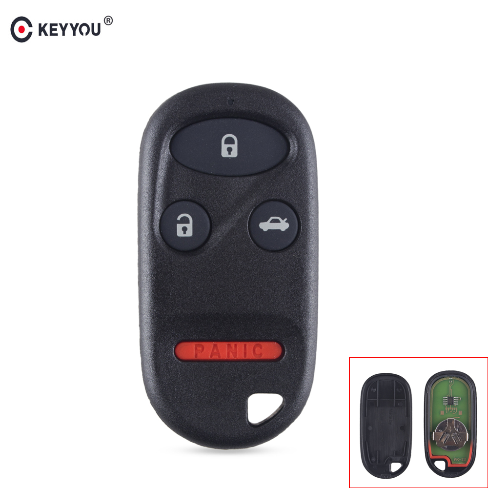 Keyyou 4 Buttons 315mhz Keyless Entry Remote Key Fob Clicker Fit For Alarm Nissan Infiniti Kbrastu15 Fits Honda Accord 1998 1999 2000 2001 2002 2003 Transmitter