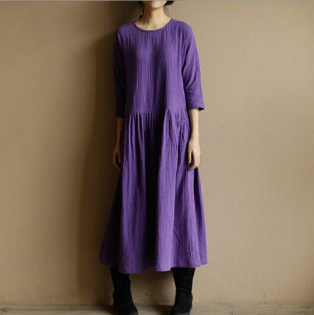 Льняные платья алиэкспресс