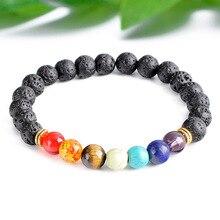 SA SILVERAGE Natural Stone Round 8mm Purple Crystal Beads Bracelets 2019 Energy Yoga Wristband For Men Women New Bracelet
