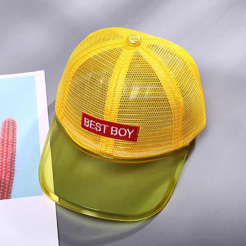Doit Best 2 a 6 Anni di età 2019 Bambino Berretto Da Baseball di Hip Hop di Sun dei capretti Cappello Del PVC bordo superiore della maglia best Delle Ragazze Dei Ragazzi Berretti cappelli di snapback