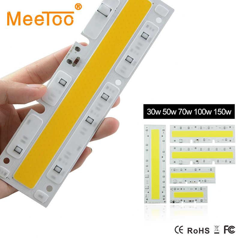 Smart IC IP65 Floodlight LED COB Chip 30W 50W 70W 100W 150W Integrated Rectangle Led Bulb Lights 110V 120V 100V