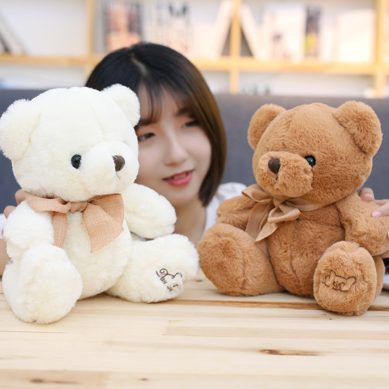 1pcs 20cm Stuffed Plush Animals Cute Soft Toys Teddy Bears Kids Room Decoration Birthday Gift Knuffels Baby Doll Toy