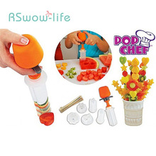 Creative DIY Fruit and Vegetable Carving Set Kitchen Widget Home Kitchenware Gadgets