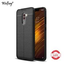 hot deal buy xiaomi pocophone f1 case f1 cover luxury rubber armor silicone case for xiaomi pocophone f1 phone case xiaomi pocophone f1 shell