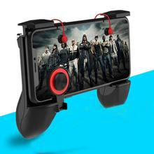 3 in 1 Gamepad for Smartphone Fire Button Aim Key Smart phone Trigger R1 L1 Shooter Gampads Mobile Gaming Handle Controller