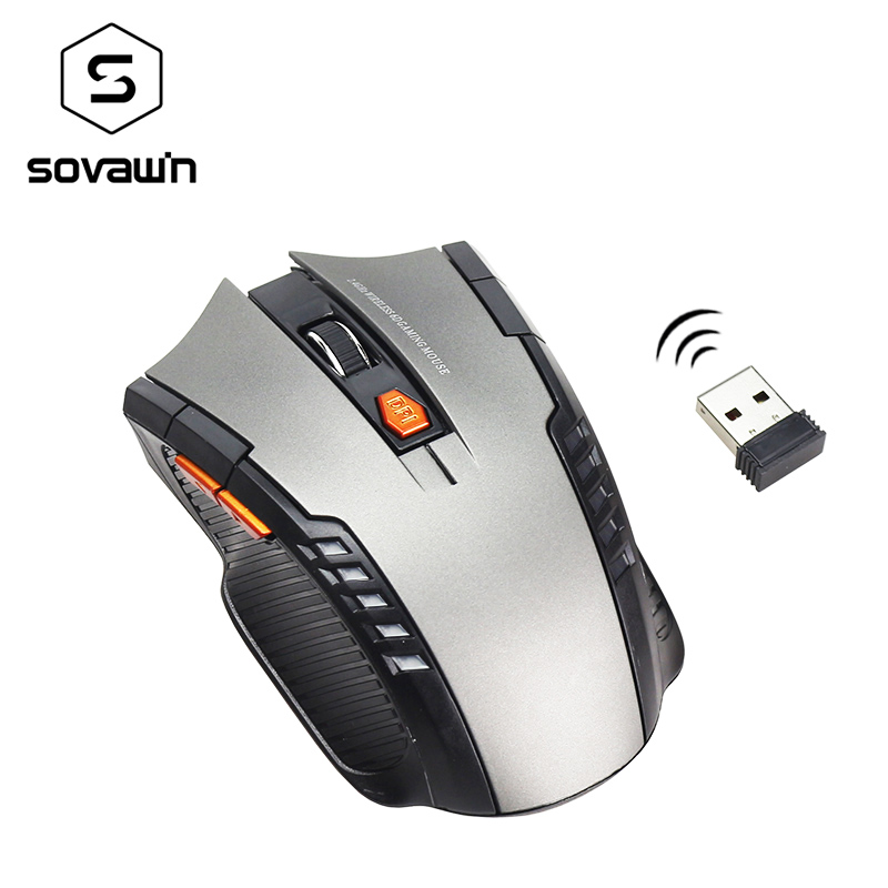 Mouse Gamer 2.4ghz Wireless Computer PC Laptop Profissional Game 1600dpi 2000 DPI USB Optical Mouses Gamer Symmetrical Design 6D usb wireless mouse 6 buttons 2 4g optical mouse adjustable 2400dpi wireless gaming mouse gamer mouse pc mice for computer laptop