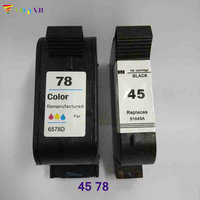 Vilaxh compatible Ink Cartridge replacement for HP 45 78 930c 3816 940c 180 280 1220c 3810 3820 3822 6122 6127 920c 932c 950c