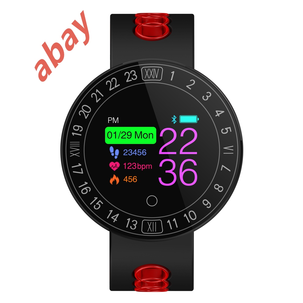 Abay Q8 Plus Smart Watch Bracelet Circle Screen Heart Rate Blood Pressure Oxygen Sports Step Stepping Social Push Multilingual