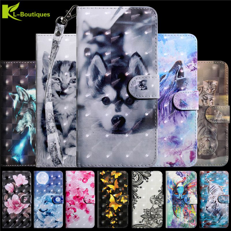 3D Vision <font><b>Case</b></font> sFor Fundas <font><b>Samsung</b></font> Galaxy A30 A50 <font><b>A40</b></font> A10 A20 A70 M20 A20E a20 e A60 A80 Cover Coque Etui Leather Phone <font><b>Cases</b></font> image