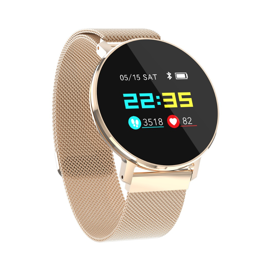 FORCA waterproof Watch IP68 Smart Wristband Fitness Bracelet Heart Rate Smart Bluetooth Sports Bracelet Step Monitoring
