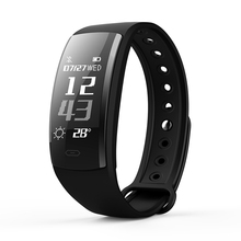 QS90 Couple Smartband Waterproof Sport Bracelet Blood Pressure Heart Rate Monitor Multi-color Watch Bluetooth Activity Tracker