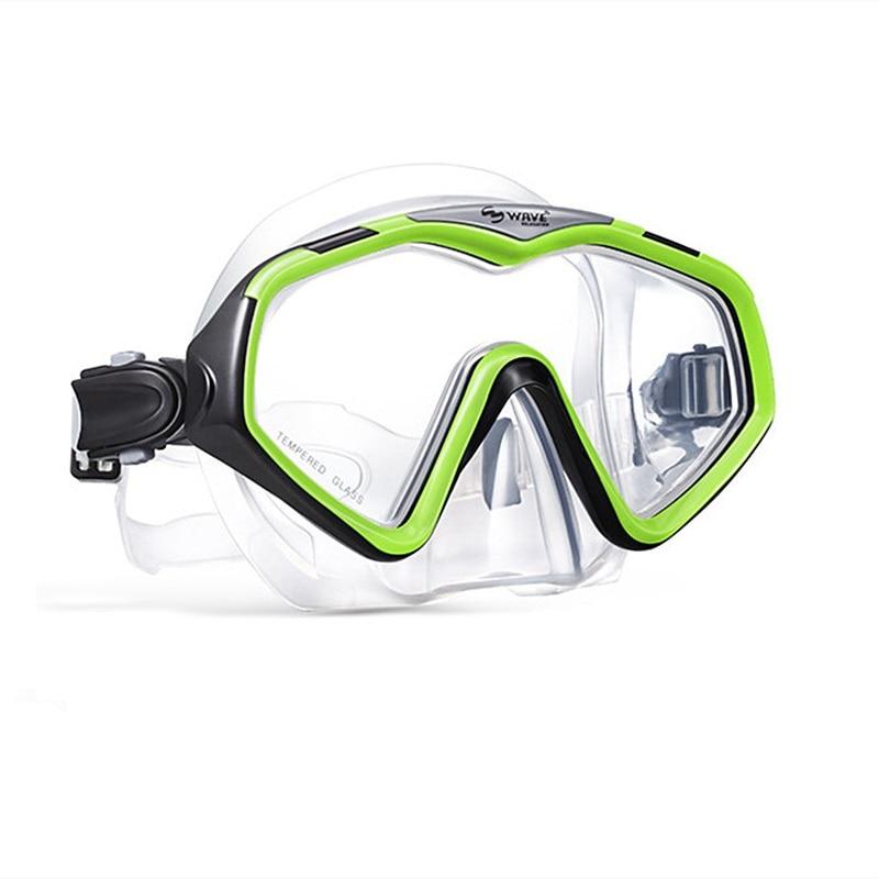 WAVE Diving Goggle Snorkeling Mask Snorkel Set Men Women Underwater Scuba Snorkel Mask For Goggles Protective Swimming Equipment