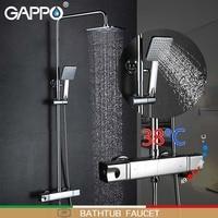 GAPPO Ванны Смесители для ванной душ термостат кран смесителя Водопад настенное крепление mostatic душ смесители краны