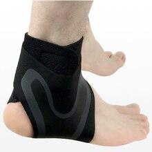 Elastic Nylon Strap Ankle Support Brace Badminton Basketball Football Riding Taekwondo Fitness Heel Protector