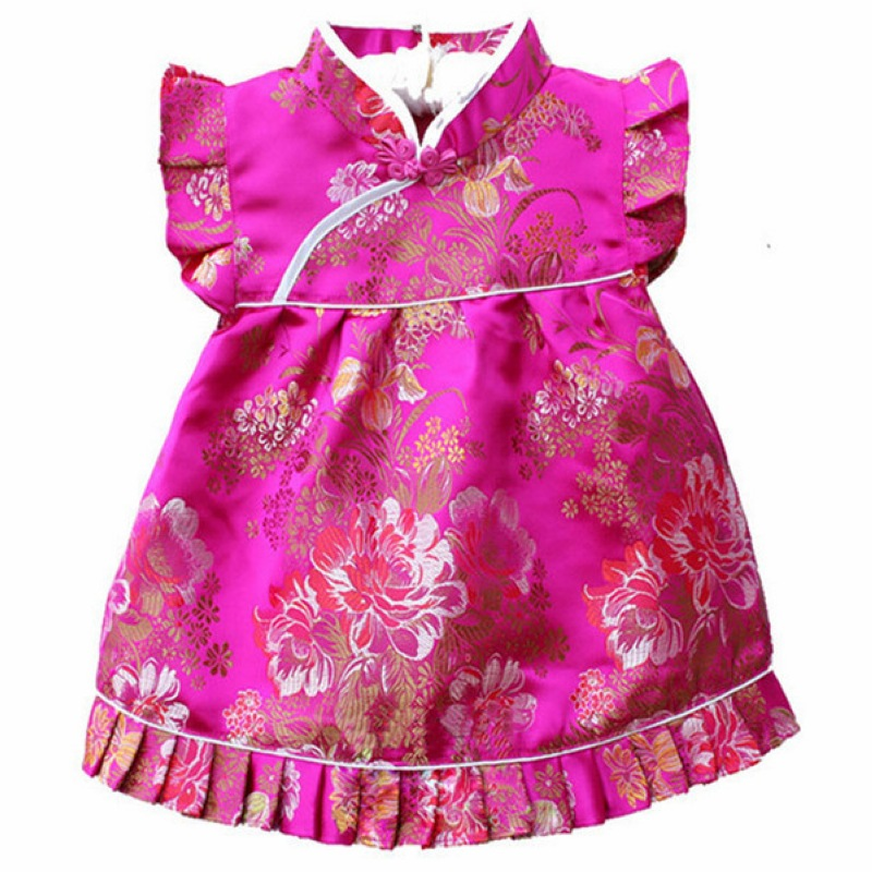 QZ-7 טורקיז כחול חדש נולד בייבי שמלות - ביגוד לתינוקות
