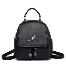 Fashion 3 In 1 Women Backpack High Quality Soft Leather