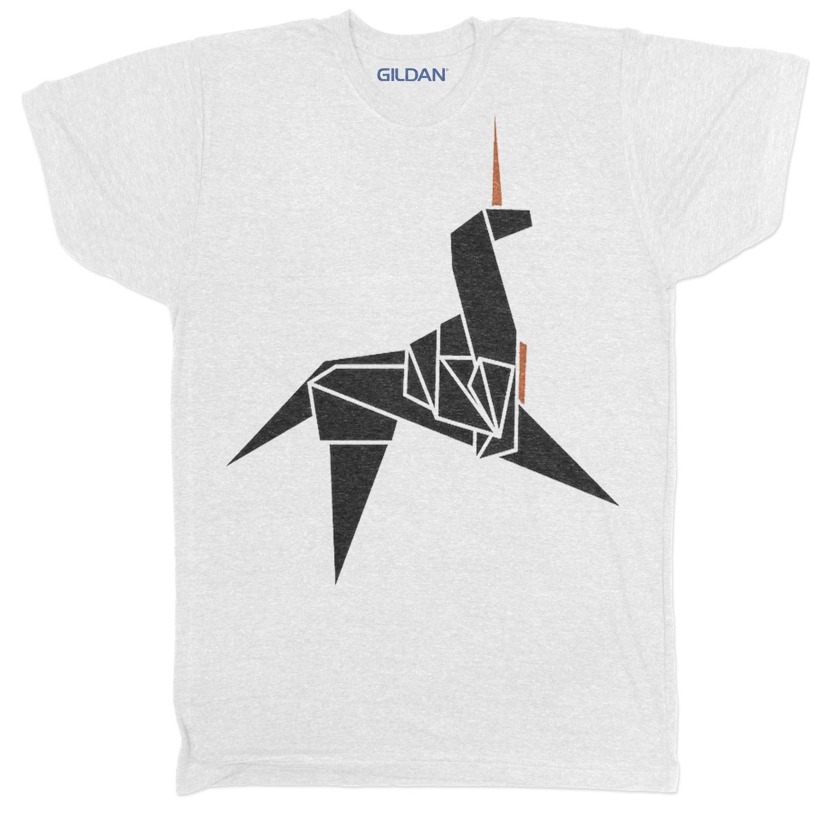 BLADE RUNNER ORIGAMI UNICORN T SHIRT SUPER HERO SCI FI 80S RETRO MOVIE FILM