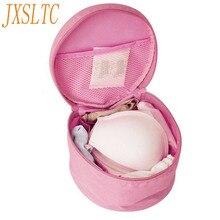 JXSLTC Fashion Waterproof Nylon Floding Portable Lady Handbag Underwear Bra Storage Bag Travel Clothing Wash  Organizers Bags
