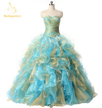 Женское бальное платье bealegantom расшитое бисером на шнуровке