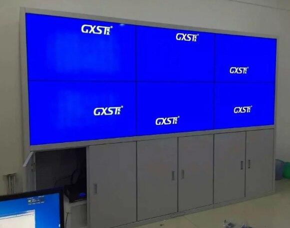 2x3 pcs 3.5mm Bezel Mosaic lcd tft full HD 1920*1080 display monitor computer control video wall