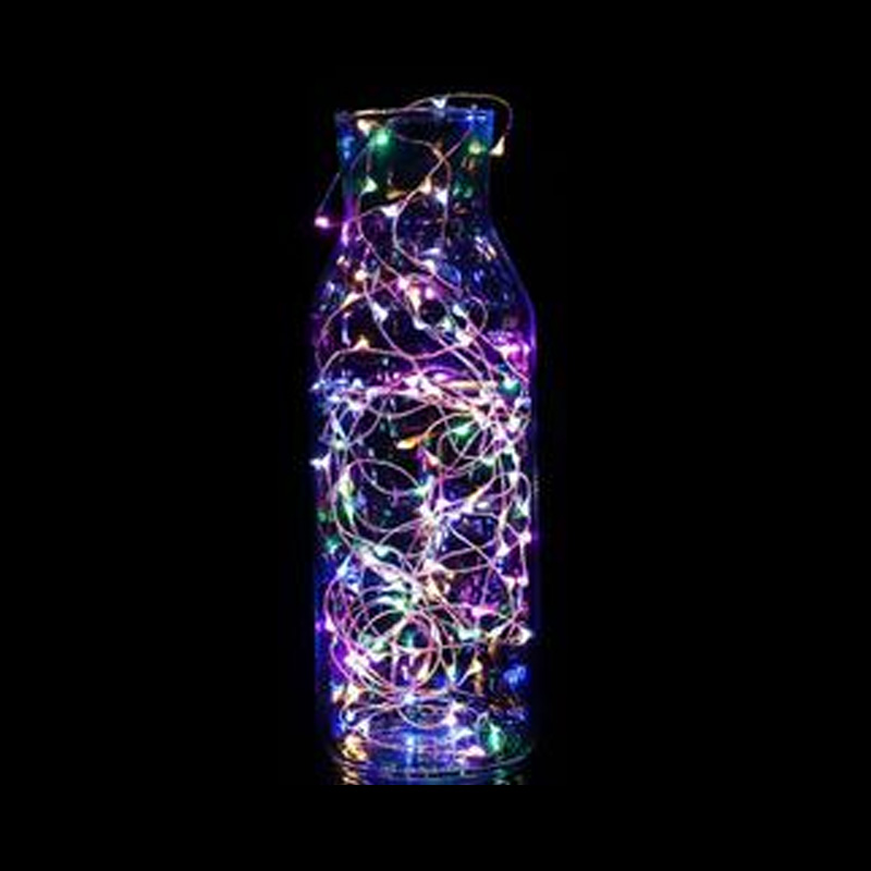 2M 5M 10M Silver Wire Star String Light Battery Included Fairy Waterproof Outdoor Decoration Sting lamp for Christmas ...