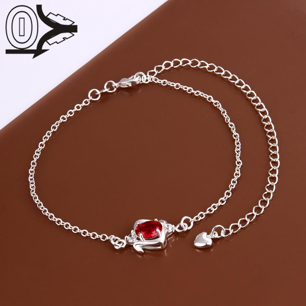A007-A Free Shipping Lose Money Large Stock Delicate Handmade Cheap Silver Plated Anklet Ladies Feet Chain Bracelets Bulk Sale