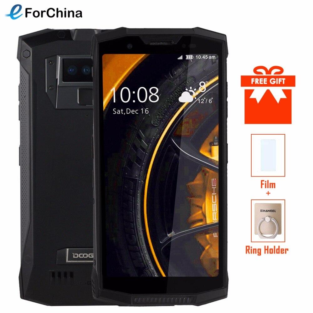DOOGEE S80 смартфон IP68 IP69K Водонепроницаемый 5,99 MT6763T Восьмиядерный 6 ГБ + 6 4G B двойной сзади Камера 4G Android 8,1 NFC-рация